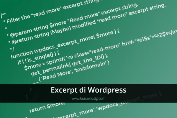 Excerpt-WordPress