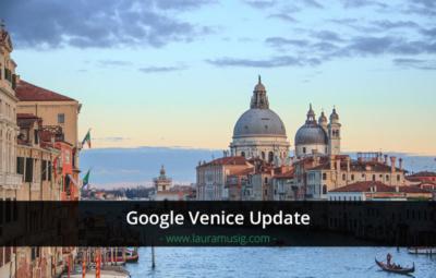 Google Venice Update