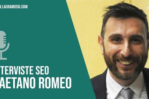 Intervista a Gaetano Romeo