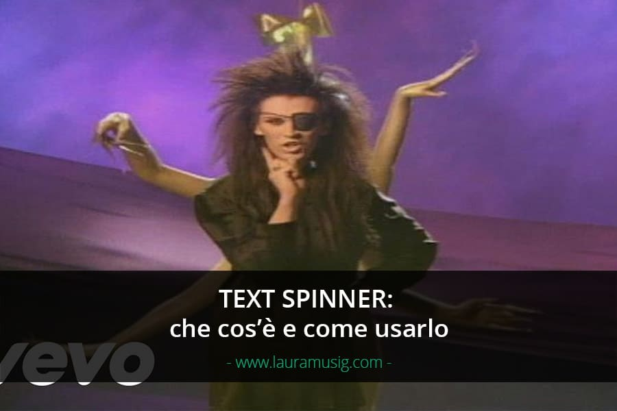 text-spinner